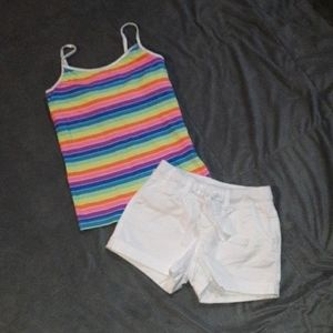 3/$18 girls 12/12S summer outfit